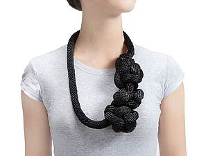 Веревочные украшения для женщин   Ярмарка Мастеров - ручная работа, handmade