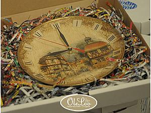 Делаем авторские часы с имитацией старинной фрески. Ярмарка Мастеров - ручная работа, handmade.