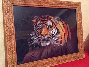Вышитые картины | Ярмарка Мастеров - ручная работа, handmade