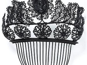 Ювелирные украшения из чугуна первой половины XIX века. Ярмарка Мастеров - ручная работа, handmade.