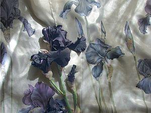 Черные ирисы | Ярмарка Мастеров - ручная работа, handmade
