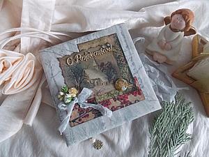 Рождественский блокнотик! | Ярмарка Мастеров - ручная работа, handmade