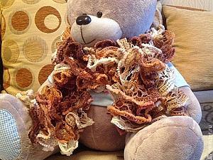 Скидка на кружевные шарфики 20%! | Ярмарка Мастеров - ручная работа, handmade
