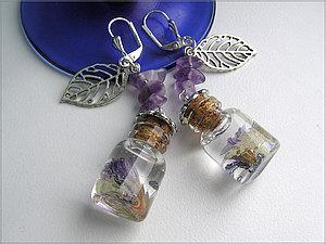 Цветы в «хрустале» handmade
