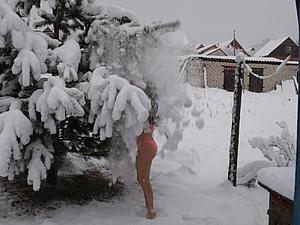Почему полезно умываться снегом. | Ярмарка Мастеров - ручная работа, handmade