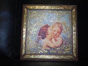 Сложная фреска с элементами золочения. | Ярмарка Мастеров - ручная работа, handmade