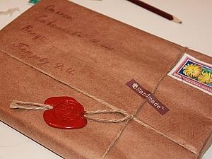 Простая подарочная упаковка своими руками за 10 минут. Ярмарка Мастеров - ручная работа, handmade.