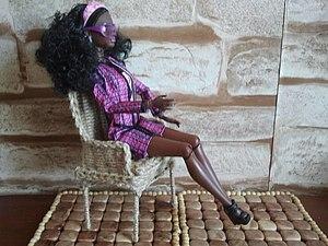 Делаем плетеный стул для Барби | Ярмарка Мастеров - ручная работа, handmade