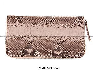 Розыгрыш кошелька из кожи питона | Ярмарка Мастеров - ручная работа, handmade