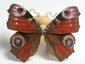 Сложное крыло бабочки в технике