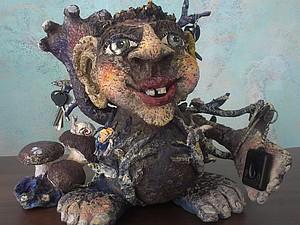 Дядюшка А-У старичок-лесовичок.. Ярмарка Мастеров - ручная работа, handmade.