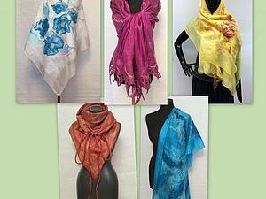 Палантин (шарф, бактус) | Ярмарка Мастеров - ручная работа, handmade