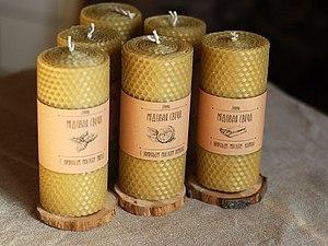 Эко свечи   Ярмарка Мастеров - ручная работа, handmade
