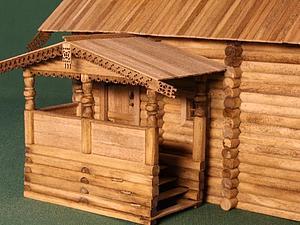 Собираем макет часовни из деревни Вигово. Часть 2. Ярмарка Мастеров - ручная работа, handmade.