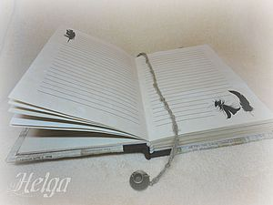 Create sheets for books and notebooks