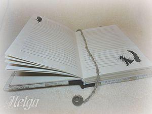 Создание листов для книг и блокнотов | Ярмарка Мастеров - ручная работа, handmade
