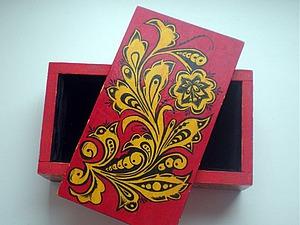 Грунтовка деревянных заготовок желатином под роспись. Ярмарка Мастеров - ручная работа, handmade.