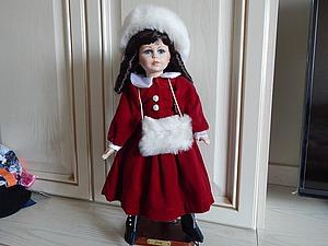 Зимняя девочка Judy от фабрики Alberon | Ярмарка Мастеров - ручная работа, handmade