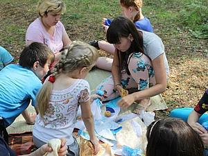 Пикник на природе с ребятами из Детского Дома №3 | Ярмарка Мастеров - ручная работа, handmade