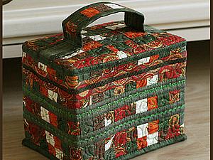 Мастер-класс по пэчворку № 22. Создаём сумочку. Ярмарка Мастеров - ручная работа, handmade.