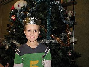 Корона для короля за 5 минут | Ярмарка Мастеров - ручная работа, handmade