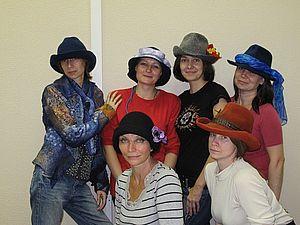 Классичесская шляпа с полями на каркасе | Ярмарка Мастеров - ручная работа, handmade