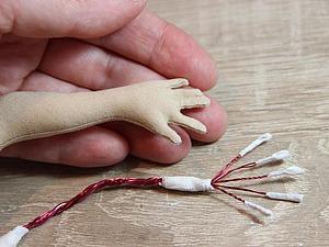Как вывернуть маленькие пальчики кукле. Секреты работы с мелкими деталями. Ярмарка Мастеров - ручная работа, handmade.