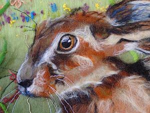 MarmaladeRose и её чудесные валяные картины | Ярмарка Мастеров - ручная работа, handmade