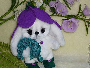 Аукцион на маленького зайку! ЗАКРЫТ | Ярмарка Мастеров - ручная работа, handmade