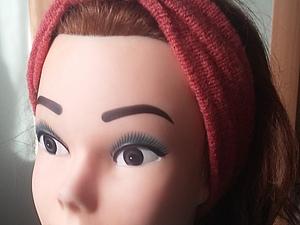 Шьем модную повязку на голову. Чалма-тюрбан своими руками. Часть 1. Ярмарка Мастеров - ручная работа, handmade.