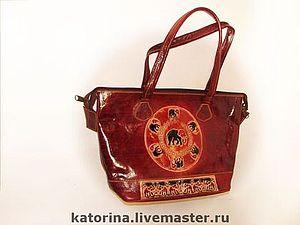 Новая коллекция кожаных  сумок ручной работы   Ярмарка Мастеров - ручная работа, handmade
