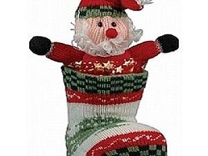Такие разные и все — прекрасные: рождественские сапожки | Ярмарка Мастеров - ручная работа, handmade