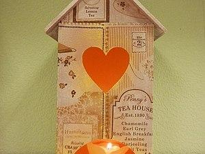 Декупаж: ванильный чайный домик с состариванием. | Ярмарка Мастеров - ручная работа, handmade