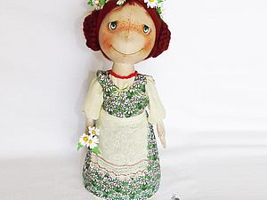 Кукла-матрешка | Ярмарка Мастеров - ручная работа, handmade