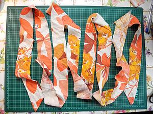 Косая бейка одним швом | Ярмарка Мастеров - ручная работа, handmade