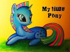 Рисуем симпатичного пони. Ярмарка Мастеров - ручная работа, handmade.