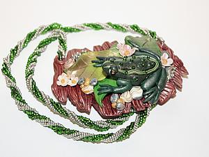 Мастер класс ожерелья  из полимерной глины | Ярмарка Мастеров - ручная работа, handmade