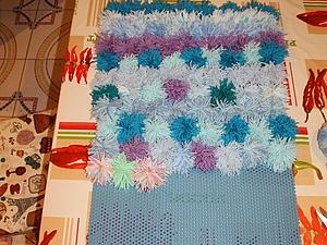 Процесс создания веселого коврика. Ярмарка Мастеров - ручная работа, handmade.