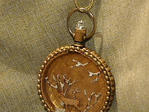 Мастер-класс по декору старинных часов «Винтажное Рождество». Ярмарка Мастеров - ручная работа, handmade.