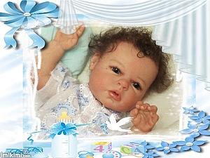 Малышок Назарчик-2 Кукла реборн Инны Богдановой | Ярмарка Мастеров - ручная работа, handmade