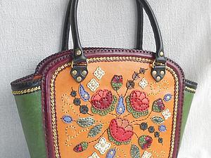 Курс по изготовлению сумок из кожи: Приемы художественной обработки кожи | Ярмарка Мастеров - ручная работа, handmade