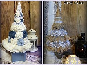ЭКО-елки в стиле бохо и рустик | Ярмарка Мастеров - ручная работа, handmade