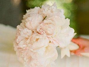 Букет невесты из пионов | Ярмарка Мастеров - ручная работа, handmade