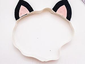 Ушки кошки из фетра своими руками. Ярмарка Мастеров - ручная работа, handmade.