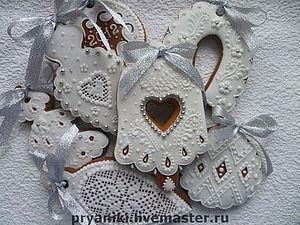 Роспись пряников для начинающих (новогодний ассортимент пряников) | Ярмарка Мастеров - ручная работа, handmade