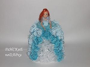 Как сделать необычный подарок. Мастер-класс по оформлению куклы конфетами. Ярмарка Мастеров - ручная работа, handmade.