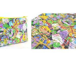 Лоскутная ткань своими руками из обрезков | Ярмарка Мастеров - ручная работа, handmade