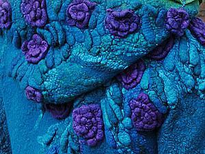 Объемные фактуры: цветы и листочки-капли | Ярмарка Мастеров - ручная работа, handmade