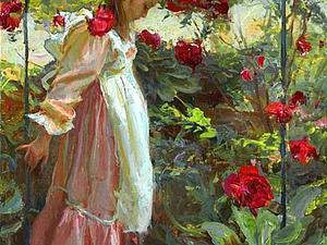 «Женщина — это весна!»: утонченные и нежные женские образы в живописи | Ярмарка Мастеров - ручная работа, handmade
