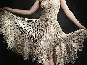 Мое платье стало работой дня!!! | Ярмарка Мастеров - ручная работа, handmade